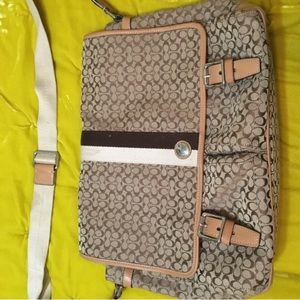 Coach Classic tapestry messenger bag